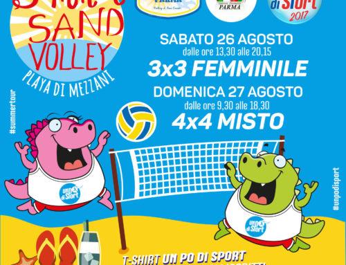 Summer Sand Volley sulla Spiaggia di Mezzani